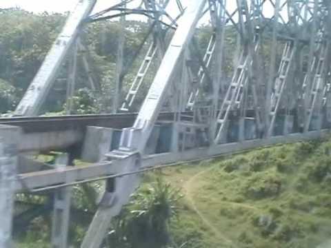 Jembatan Kereta Api di atas Sungai Progo