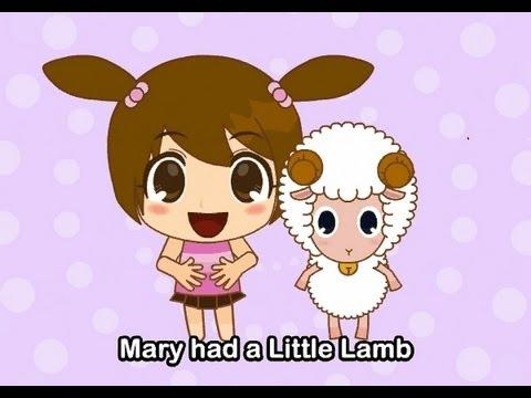 Muffin Songs – Mary Had A Little Lamb  İngilizce Tekerlemeler ve İngilizce Çocuk Şarkılar