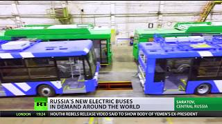 It's electric: New Russian bus in demand around the world - RUSSIATODAY