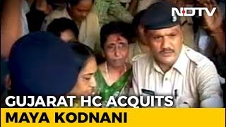 2002 Gujarat Riots: Maya Kodnani acquitted in Naroda Patiya massacre case - NDTV