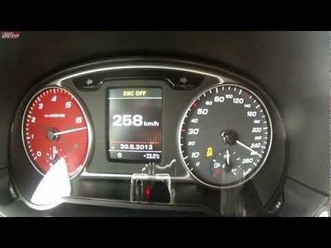 Audi A1 Quattro 0-259 km/h Gravel Tarmac Acceleration Top Speed Test sport auto Christian Gebhardt