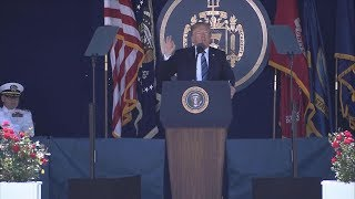 Pres. Donald Trump gives commencement speech at U.S. Naval Academy | ABC News - ABCNEWS