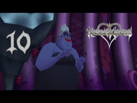 KH HD 1.5 ReMIX | Kingdom Hearts Re: Chain of Memories Guia 100% #10 Atlantica y Ursula