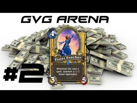Hearthstone GvG Arena Violet Value! #2