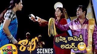 Brahmanandam & Hema Best Comedy Scene | Rakhi Telugu Movie Scenes | Jr NTR | Ileana | Mango Videos - MANGOVIDEOS
