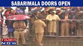 Sabarimala row: Live updates from Sabarimala, temple doors open, women still not allowed to enter - TIMESNOWONLINE