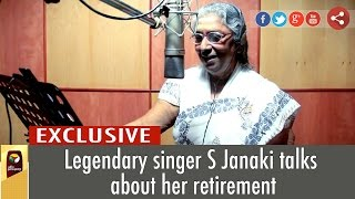 Legendary Singer S Janaki Talks about her retirement to Puthiya Thalaimurai