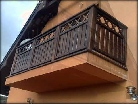 stolarstwo balustrada balkonowa