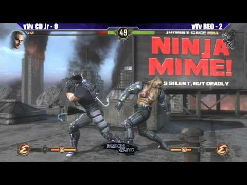 MK9 Grand Finals vVv CD Jr vs vVv REO - WB6 Road to Evo 2012