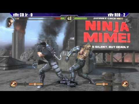 MK9 Grand Finals vVv CD Jr vs vVv REO - WB6 Road to Evo 2012