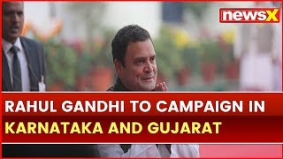 Campaigning Begins for 2019 Lok Sabha elections; Rahul Gandhi to Campaign in Karnataka and Gujarat - NEWSXLIVE