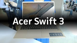 Acer Swift 3 laptop hands-on - PCWORLDVIDEOS