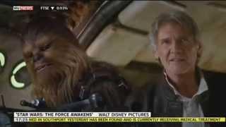 Second Star Wars Episode VII Trailer Released - SKYNEWS