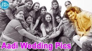 Hero Aadi Wedding Exclusive Photos    Aadi    Aruna - IDREAMMOVIES