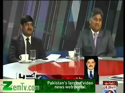 Matiullah Jan Calls Mubashir Lucman Tharki Journalist & In Reply Mubashir calls him 'Do Numberi & Bl