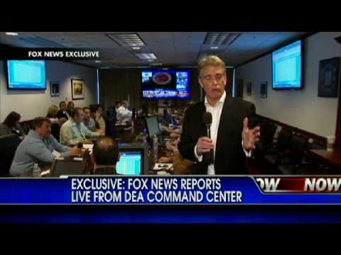 EXCLUSIVE: Live From DEA Command Center as Drug Raids Begin