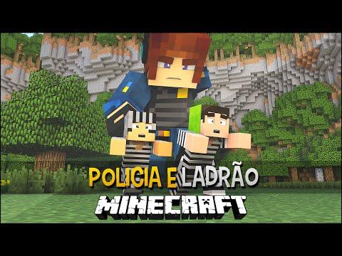 Policia e Ladrão - Cadeia de Gigantes !!