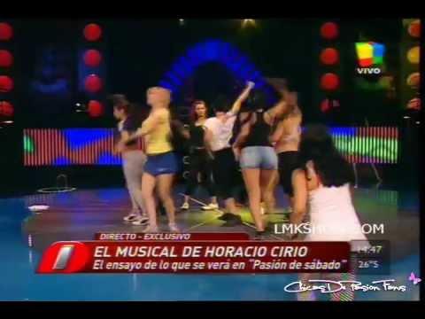Las Chicas De Pasion  Ensaya Para El Musical De Pasion