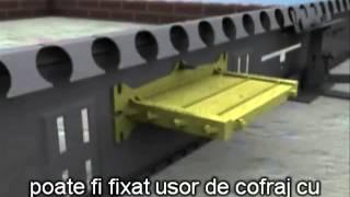 Температурный шов armourjoint в бетонных полах завода