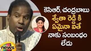 KA Paul Requests Chandrababu Naidu To Protect Journalist Swetha Reddy From His Fans | Mango News - MANGONEWS