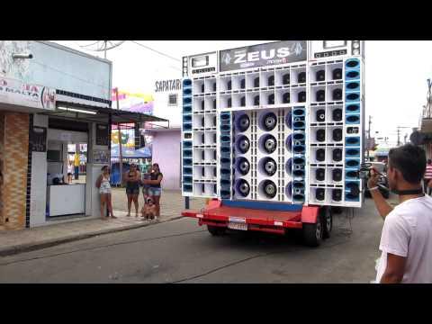 testando paredão zeus no carnaval