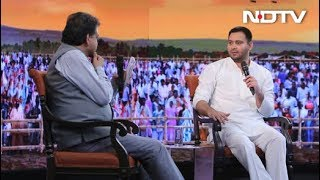 """#NDTVYuva – """"Our Fight Is Against Ideology Not The Individual"""", Says Tejashwi Yadav - NDTV"""