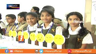 Students Exhibit Their Experiments at Science & Art Exhibition in Hyderabad Public School | iNews - INEWS