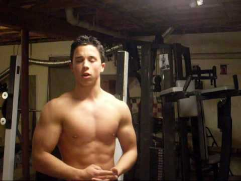 Teen Bodybuilder - Nick Wright - Bicep Curls