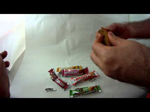 Japanese soy joy new 5 flavor taste test healthy? candy bar [wow-pow]