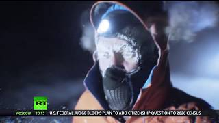Gruelling challenge: Man runs 50 km through wilderness of Siberia in -60°C - RUSSIATODAY
