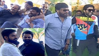 Mega Family At Vaisshnav Tej Debut Movie Launch | Chiranjeevi | Allu Arjun | Varun Tej | TFPC - TFPC