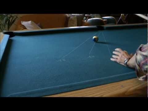 billiards,  aiming fraction system  part 3