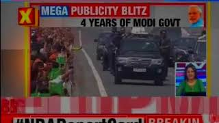 PM holds mega roadshow on expressway, India's 1st green and smart expressway - NEWSXLIVE