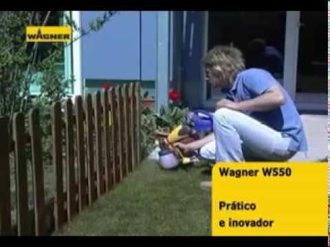 Pistola Pulverizadora Wagner W550