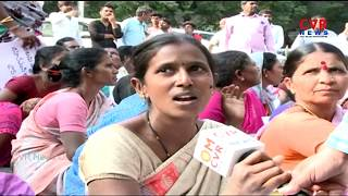 Bojagutta People Protest over Double Bedroom Houses | Mehdipatnam | CVR News - CVRNEWSOFFICIAL