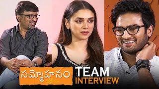 Sammohanam Team Interview | Sudheer Babu | Aditi Rao Hydari | Indraganti | TFPC - TFPC