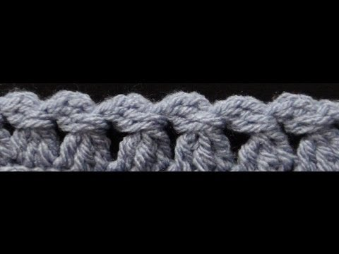 How to Crochet the Edge / Border Stitch P #8 by ThePatterfamily