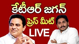 Live : KTR and YS Jagan Mohan Reddy Joint Press meet Live On Federal Front Live l CVR NEWS - CVRNEWSOFFICIAL