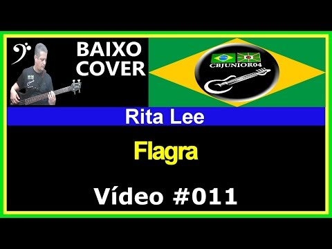 Rita Lee - Flagra (no BAIXO com Tablatura) bass cover tab