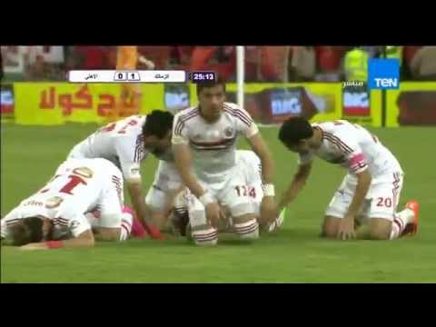 اهداف مباراة الاهلي والزمالك 2/3 في مباراة القمة بالسوبر المصري 15-10-2015