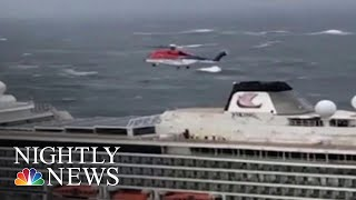 Norway Launches Investigation Into Why Cruise Ship That Became Stranded Set Sail | NBC Nightly News - NBCNEWS