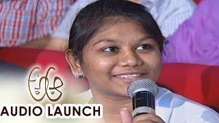 Fans Response on Movie at A Aa Audio Launch    Nithiin, Samantha, Trivikram, Mickey J Meyer - ADITYAMUSIC