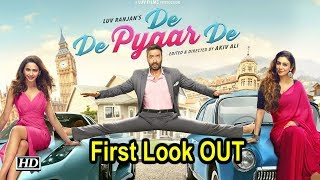 Ajay Devgn, Tabu and Rakulpreet in 'De De Pyaar De' | First Look OUT - IANSINDIA