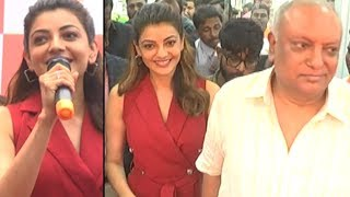 Actress Kajal Aggarwal Launches HAPPI Mobiles Store In Hanamkonda | TFPC - TFPC