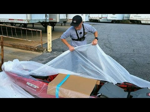 Unboxing The Most Badass Fishing Kayak! - Predator Minn Kota! (Old Town)