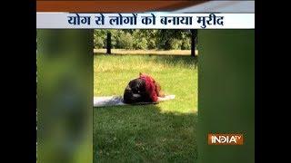 International Yoga Day: Actress Kangana Ranaut performs various Yogasanas - INDIATV