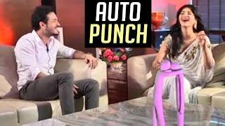 Sruthi Hassan Auto Punch To Akhil Akkineni   TFPC - TFPC