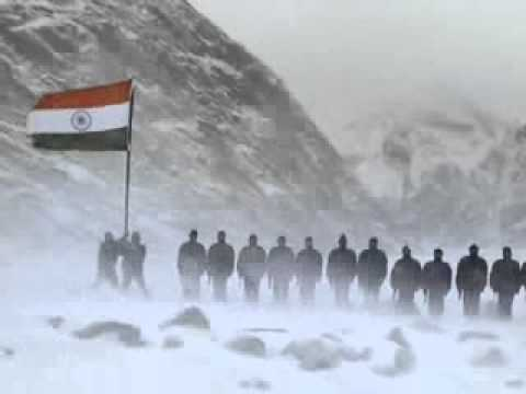 The Siachen Glacier - Indian Army - Jana Gana Mana - proud to be indian