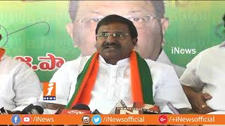 BJP MLC Somu Veerraju Criticize Chandrababu Over His Comments on YS Jagan and KCR | iNews - INEWS