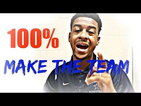 How To Make The Basketball Team